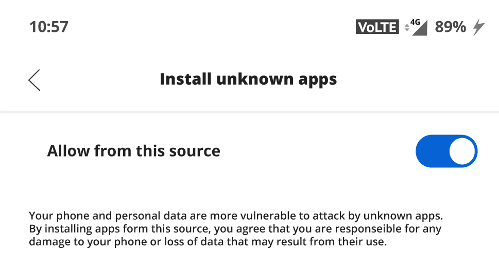 how to app install step 3