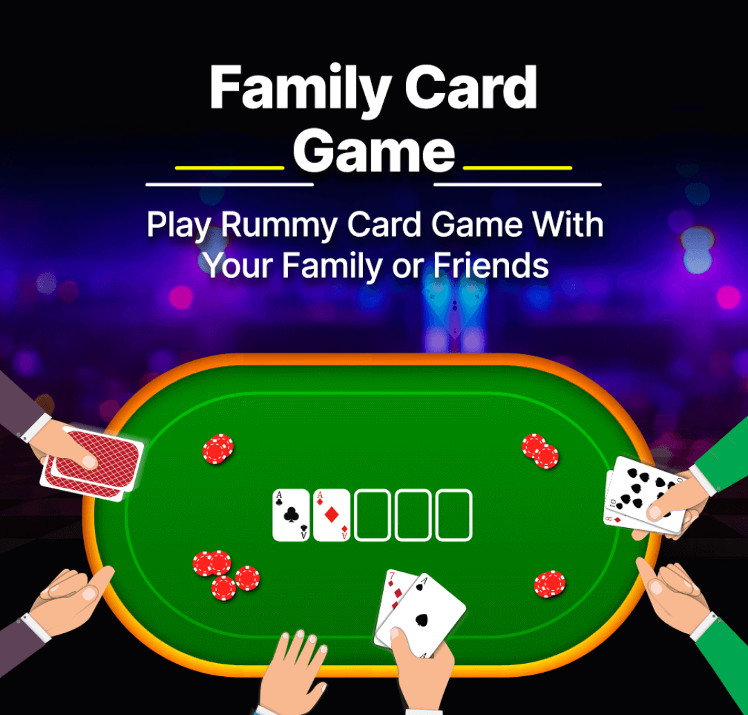 Family Card Game Banner