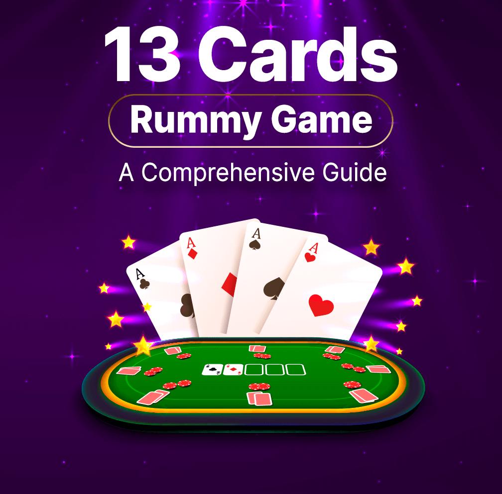 13 Cards Rummy Banner