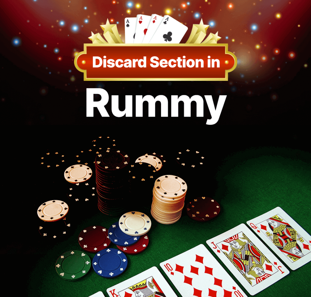 Rummy Discard Section Banner
